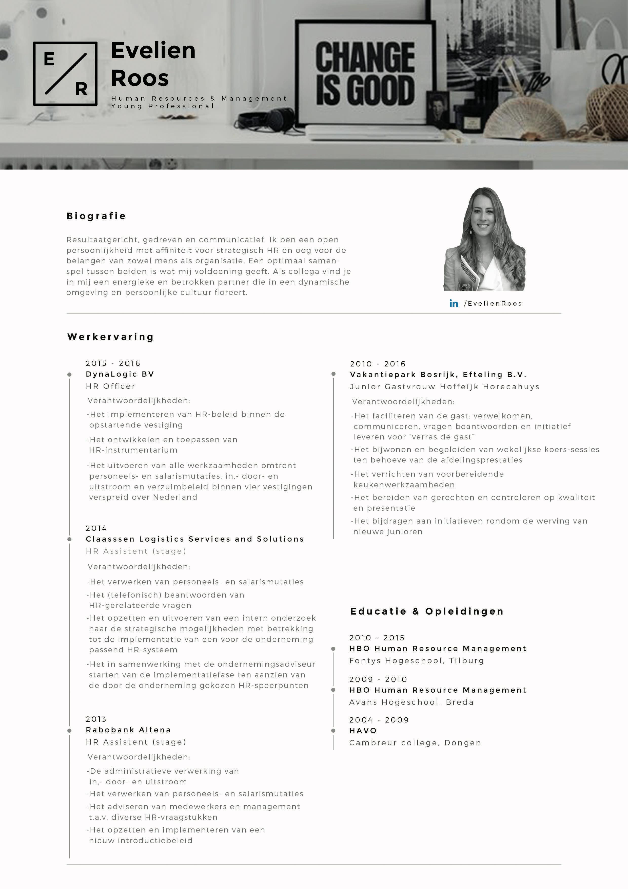 CV E. A . C. Roos – Print
